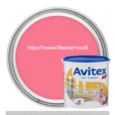 Avian Avitex Cat Dinding Interior 720 Candy Pink Shopee Indonesia