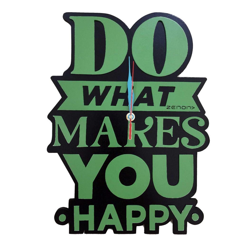 Jam dinding Be Happy  f576059172