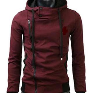 JAKET KOREA HARAKIRI MERAH MAROON Maroon S Jaket Pria Parasut Urban Bolak  Balik AA Y9I2  256cd8d711