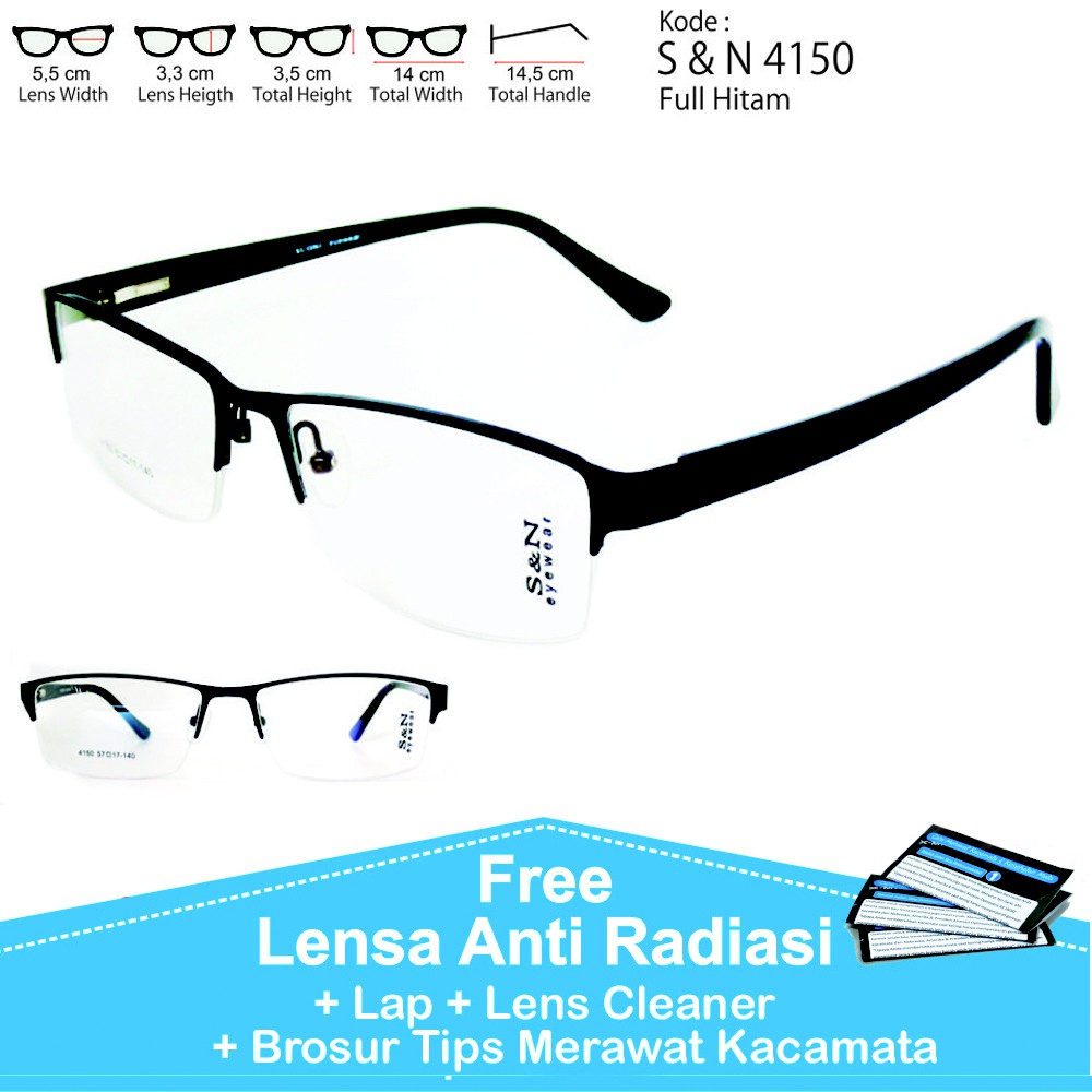 Frame kacamata rafaela + lensa minus plus silinder lensa anti radiasi  kacamata optik  d2f5de5e84