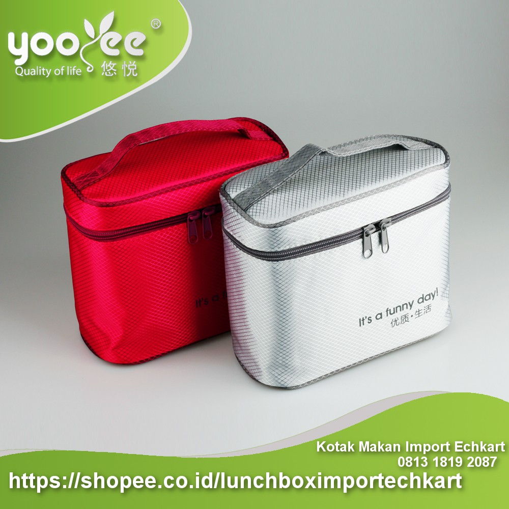 Kotak Makan Mini Yooyee Sekat 3 Lunch Box 605 4 Sup Item 415 Shopee Indonesia