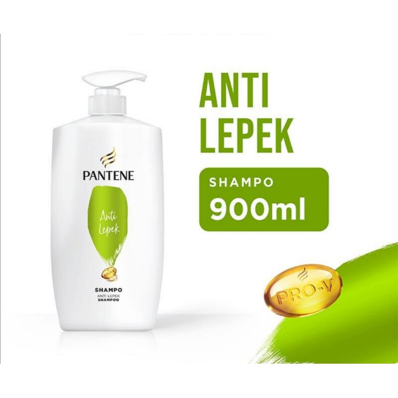 Shampoo Pantene Hair Fall /anti dandruff/ total damage/anti lepek  900ml-Anti lepek