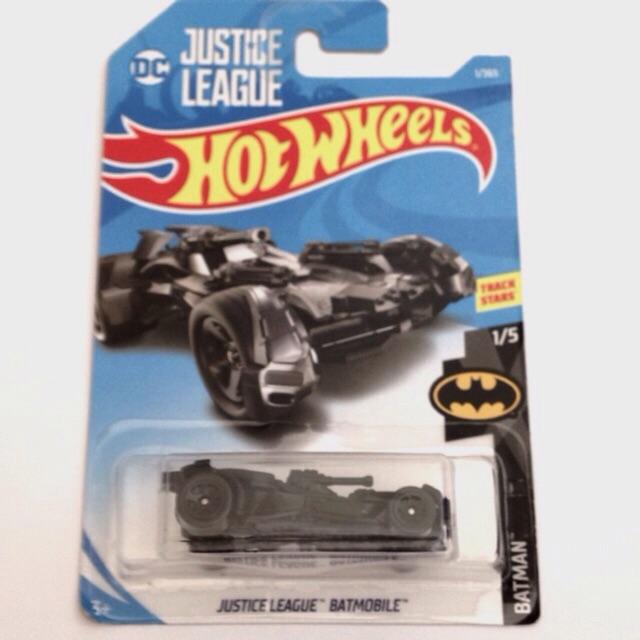 Hot Wheels 1:64 DC Justice League 2017