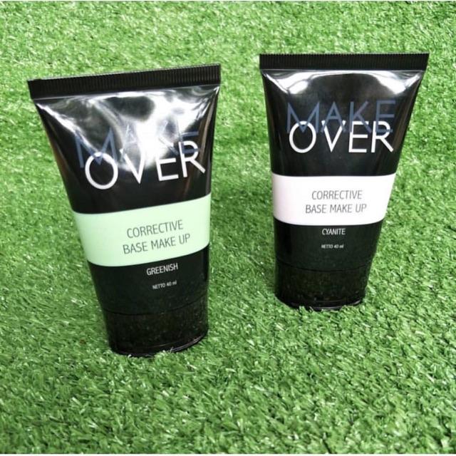 Share in Jar Make Over Corrective Base Makeup Cyanite Greenish   Shopee Indonesia