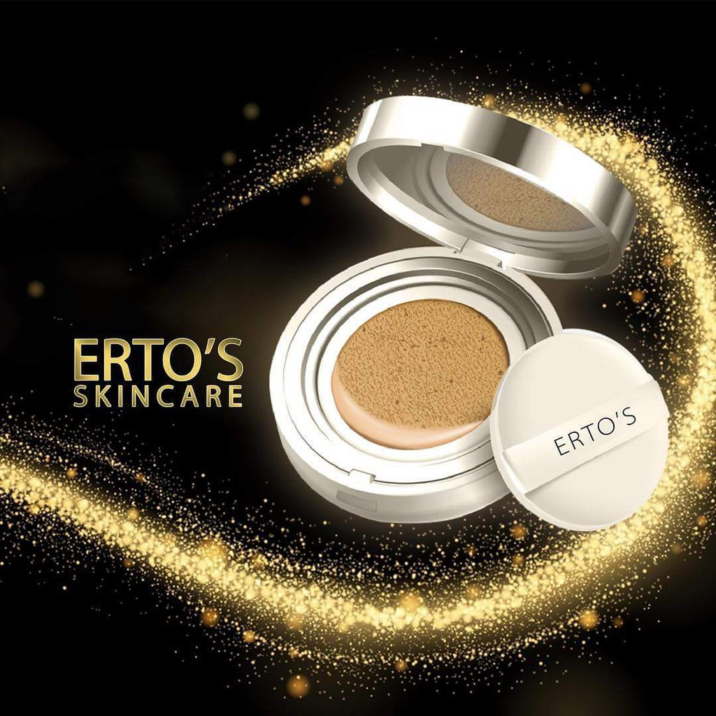 Ertos Ee Whitening Aircushion Cushion Shopee Indonesia Bedak Foundation