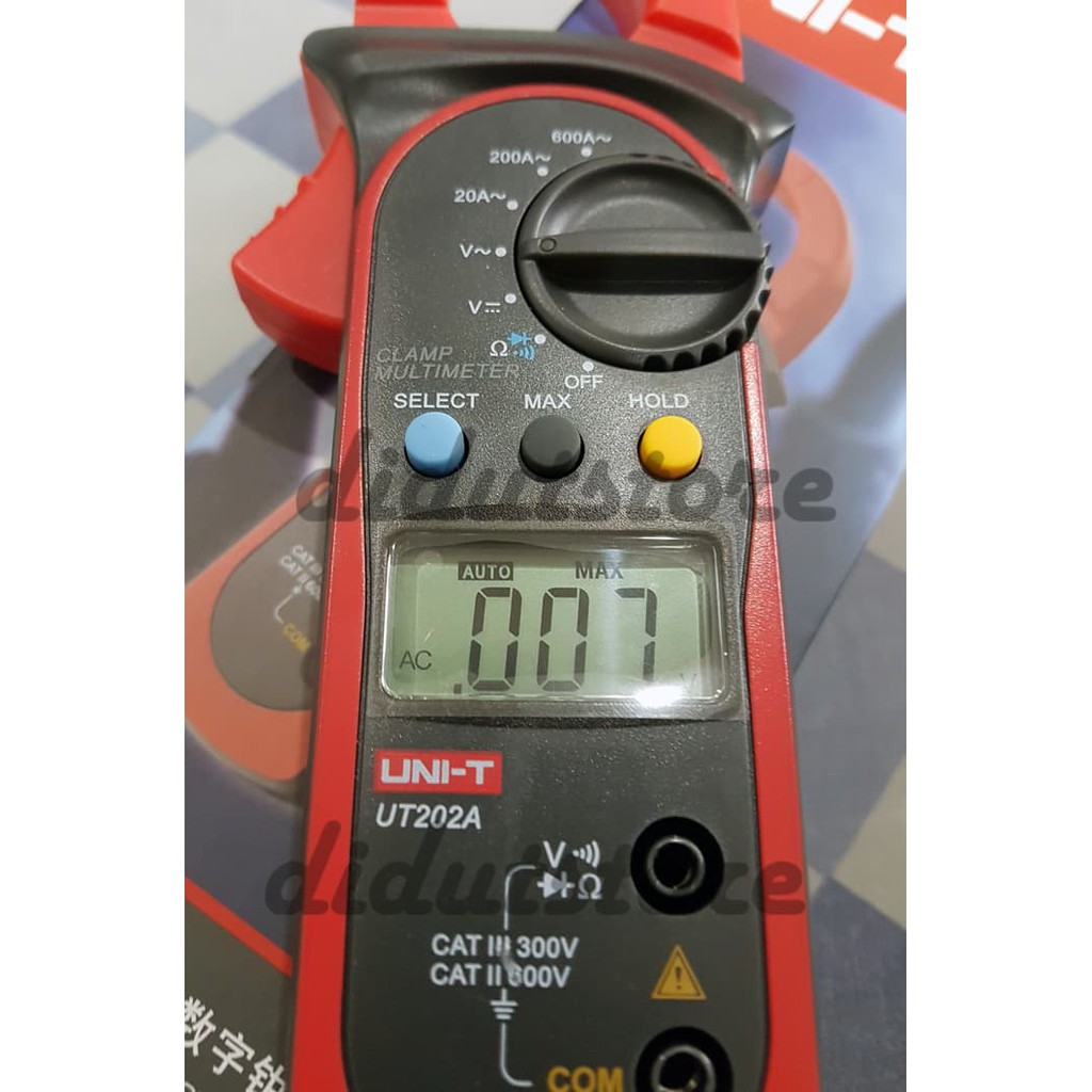Unik Tang Ampere Digital Clamp Meter Limited Shopee Indonesia Ac 2000 Kyoritsu 2002pa