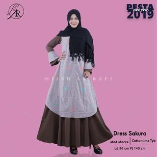 Best Seller Dress Arrafi Polos Balotelli Gamis Polos Deviana Arrafi Kombinasi Tali Di Bagian Dada Shopee Indonesia