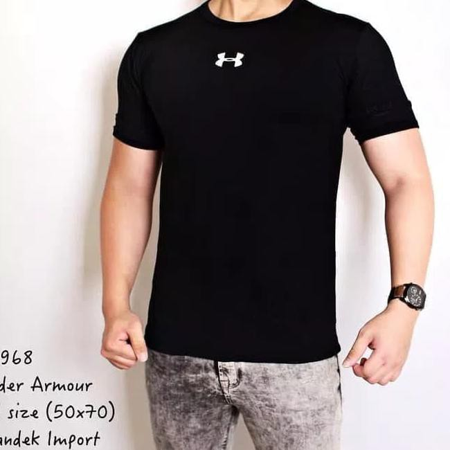 HIJAU P27  kaos lari manset baselayer baju olahraga gym fitnes dry-fit.  Popular  fcc110eab0