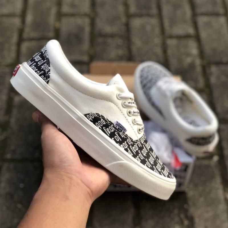 Koleksi Foto Produk Sepatu Vans Era 59 Reiss Sue Fear Of God Black White  Impor Premium Bnib China b32235ee0