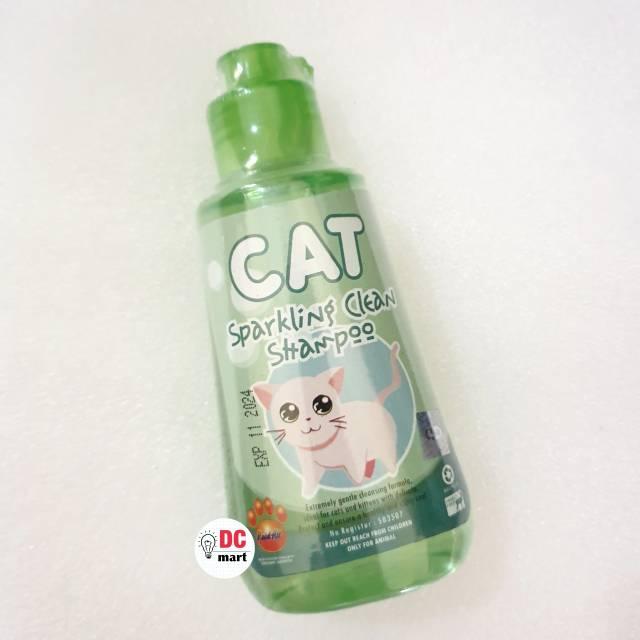 SPARKLING CLEAN CAT Shampo Hewan 150mL / Shampoo anjing kucing musang kelinci RAID ALL-4
