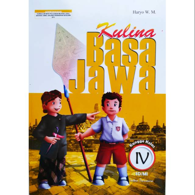 Buku Kulina Basa Jawa Kelas 4 Sd Kurikulum 2013 Shopee Indonesia