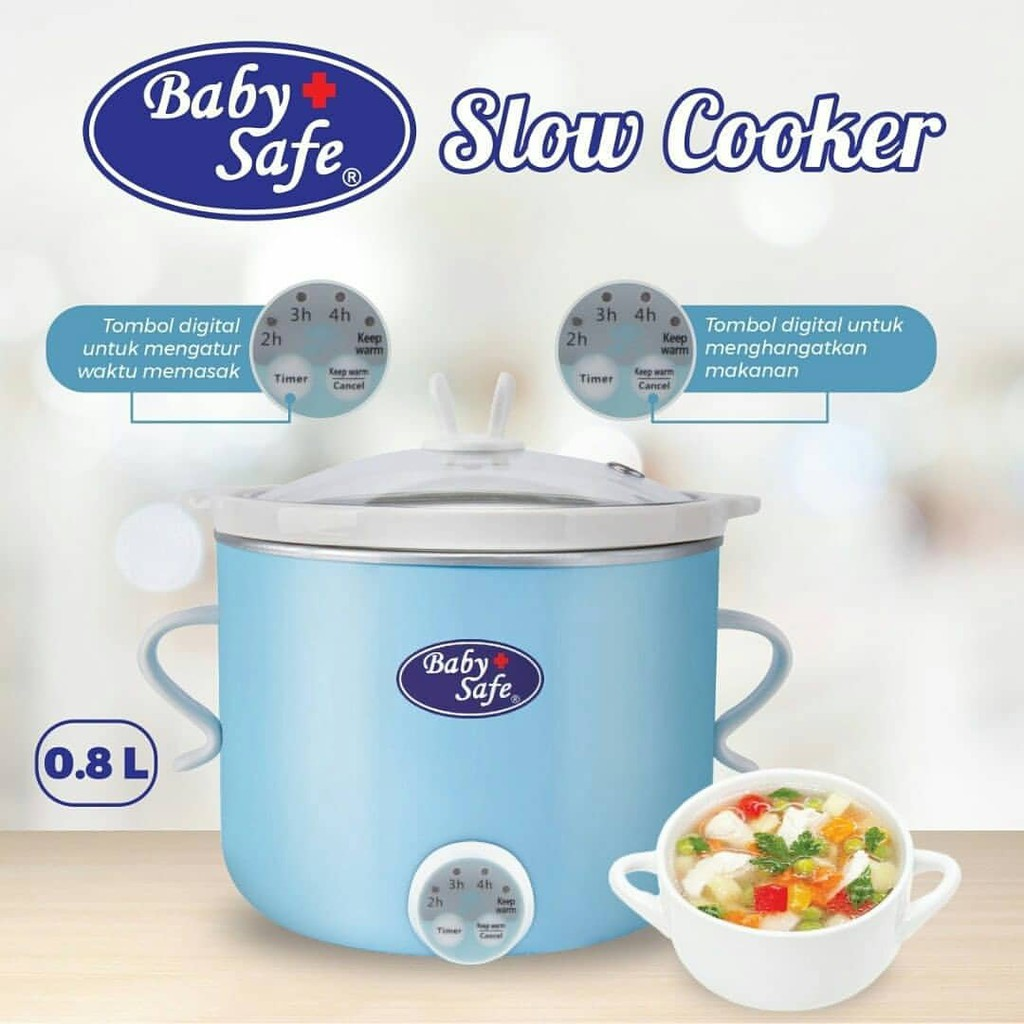 ... Baby safe Slow cooker digital LB007 / slow cooker / baby safe / perlengkapan makan bayi ...