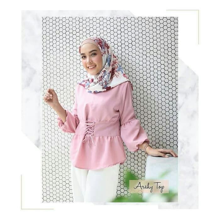 arsy top blouse   atasan   jual baju murah grosir pakaian wanita ... 17f6c77bd4