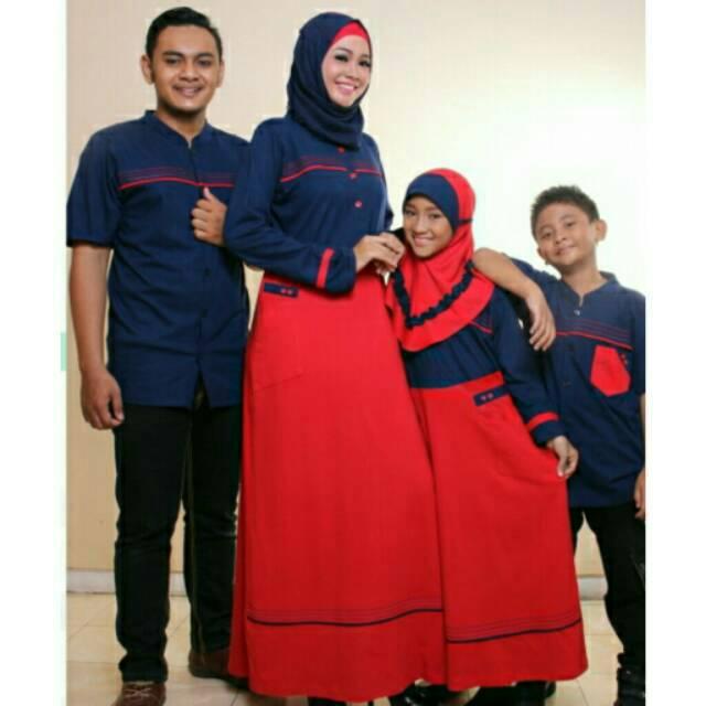 ZAFA & ZAFIRA Seragam keluarga sarimbit couple muslim gamis koko ibu ayah & anak baju branded murah | Shopee Indonesia