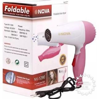 NOVA Hairdryer Hair Dryer Lipat Pengering Rambut Merk N-1290 thumbnail