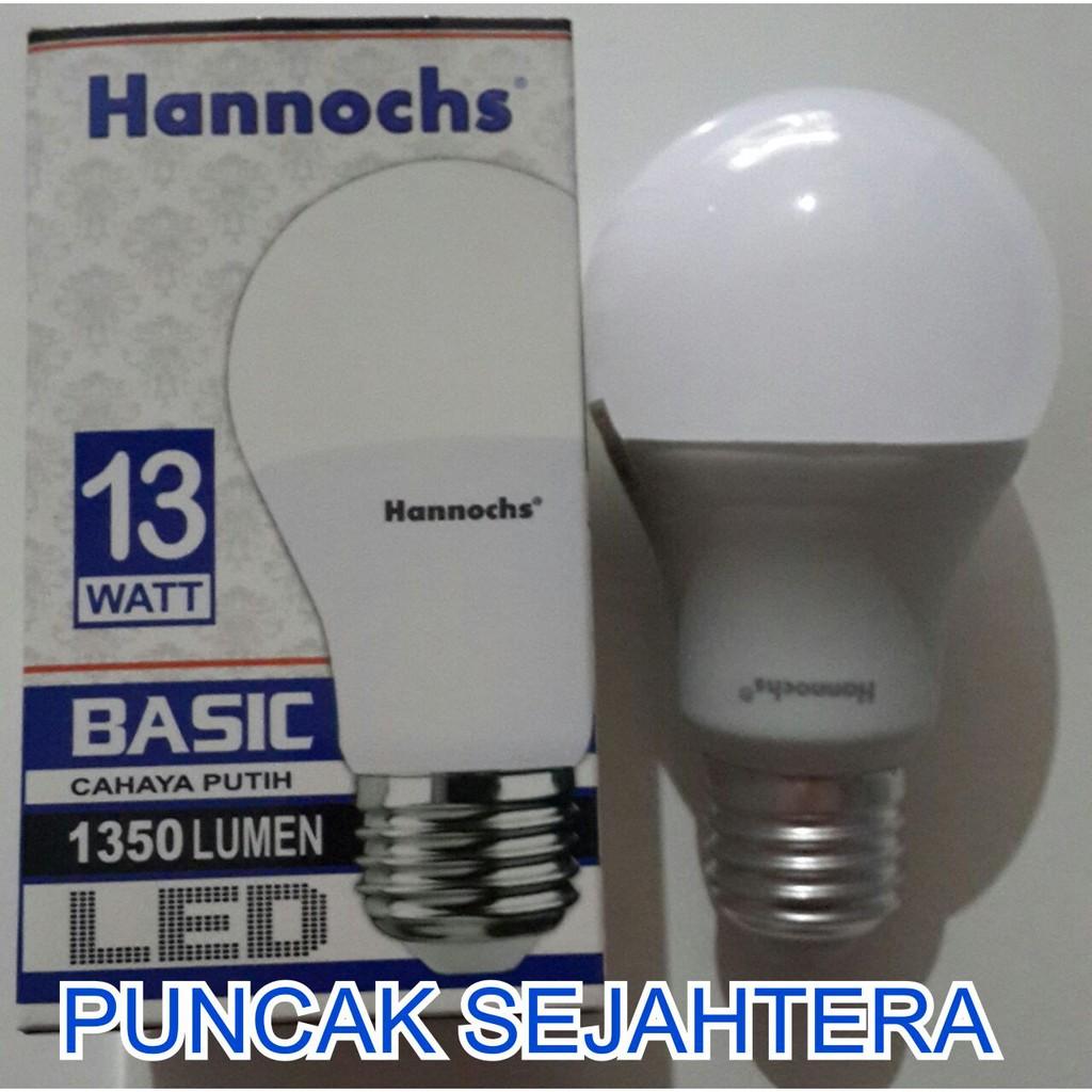 Lampu Led Hannochs Ultima 10w 10 Watt Shopee Indonesia Genius Ac Dc