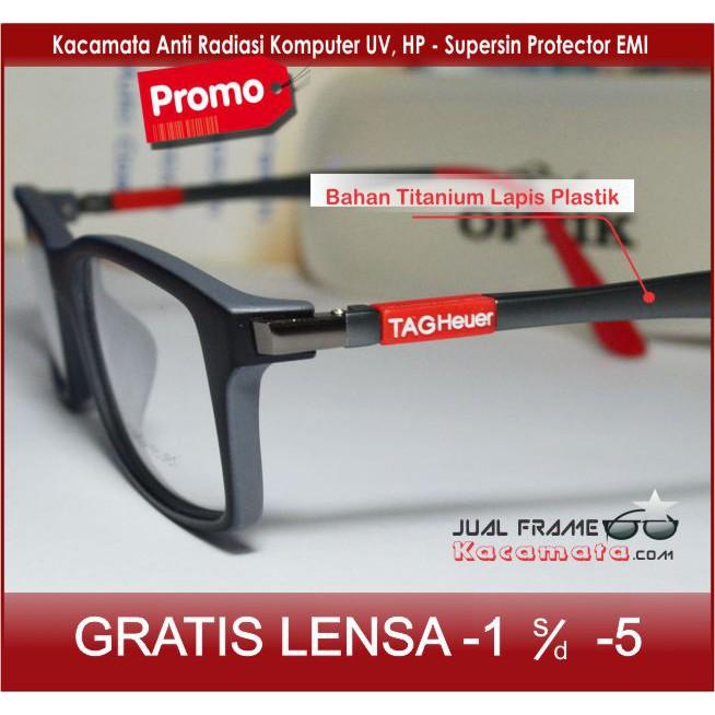 frame KACAMATA MINUS anti radiasi FREE GANTI LENSA MINUS LINDA FARROW  FACTURISITIC  1f23e775bd