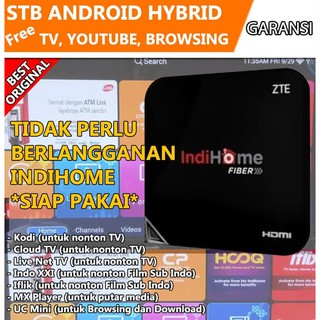 NEW STB Android Hybrid TV Online ZXViOB76OH Set Top Box