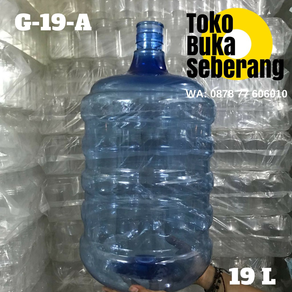 Galon Air Guci Keran 19 Liter G B Minum Dispenser Kran Tutup Aqua Greentech K02 Besar Shopee Indonesia