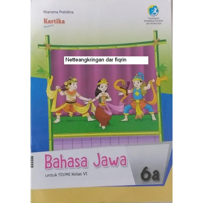 Lks Bahasa Jawa Sd Mi Kelas 6 Smtr 1 K13 Rev 2018 Baru Top Shopee Indonesia