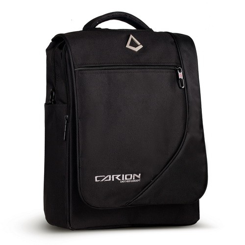 Tas Ransel Laptop Laki & Wanita + RAINCOVER Laki Backpack pria cowok sekolah kuliah polo Hitam 3309H