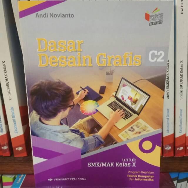Buku Paket Dasar Desain Grafis Kelas 10