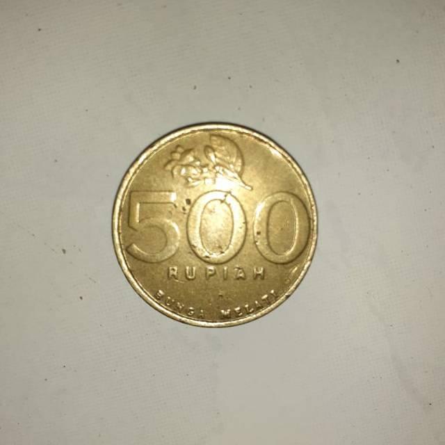 Gambar Uang Koin 500 Rupiah Uang Koin 500 Rupiah Emas Kuno Kolektor Barang Antik Melati
