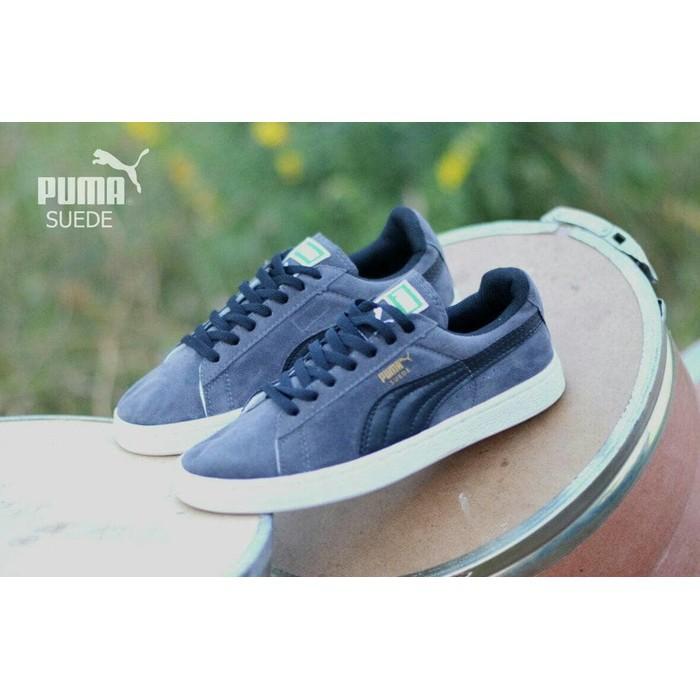Sale Diskon Sepatu Puma Hitam Putih Sol Karet  d028785538
