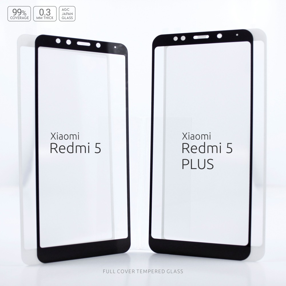 Xiaomi Redmi Note 4X 4 SNAPDRAGON Tempered Glass Color 2.5D Full Cover HQ | Shopee Indonesia