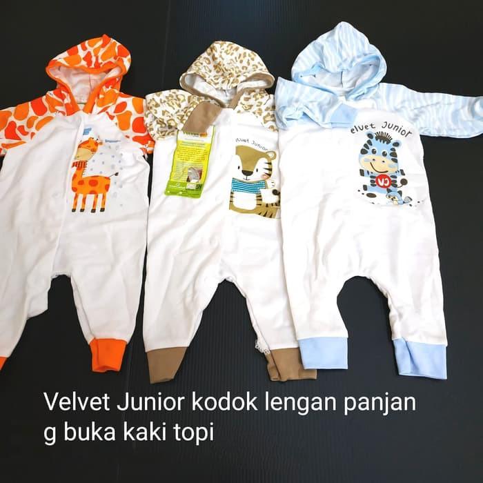 Velvet junior dreamware panjang kancing dada tanpa topi buka kaki ... b51cdda0c3