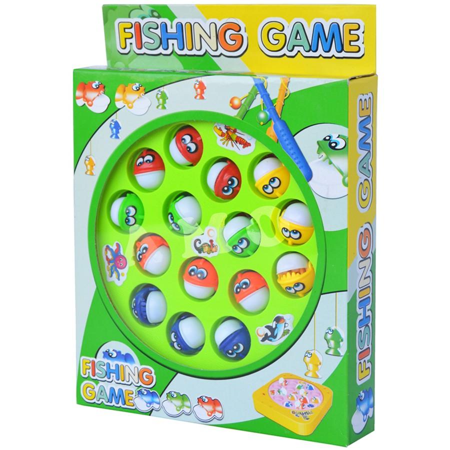 Mainan Anak Memancing Ikan Fishing Game 2 Kolam 4 Kail Pancing Fish ... 18e5a83d73