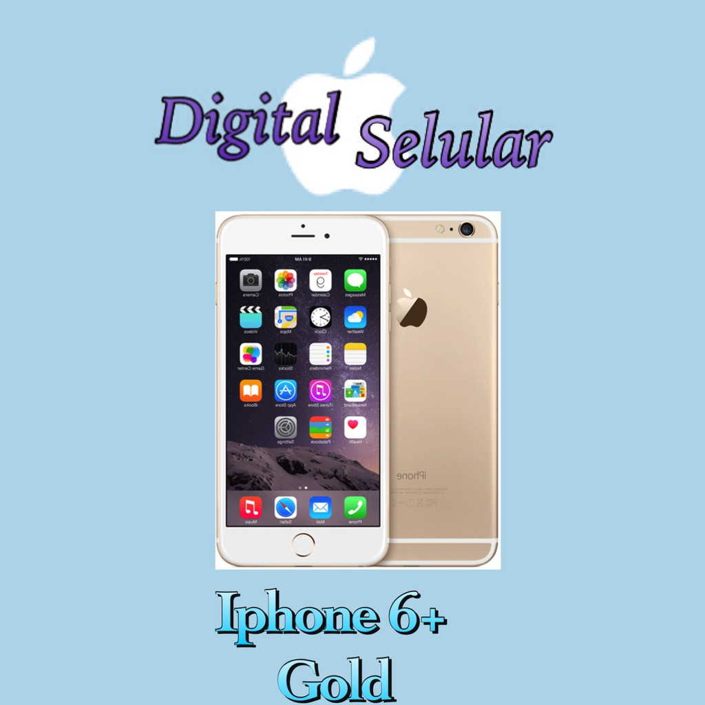 Apple iPhone 6 32GB Gold - Garansi RESMI iBox  b7485cd302