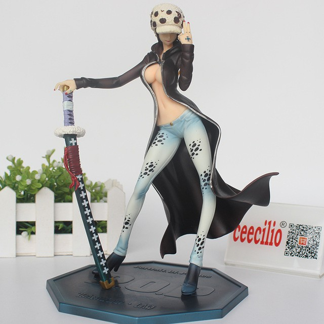 ZERO anime Law blue PVC figure toy doll statue toy anime new