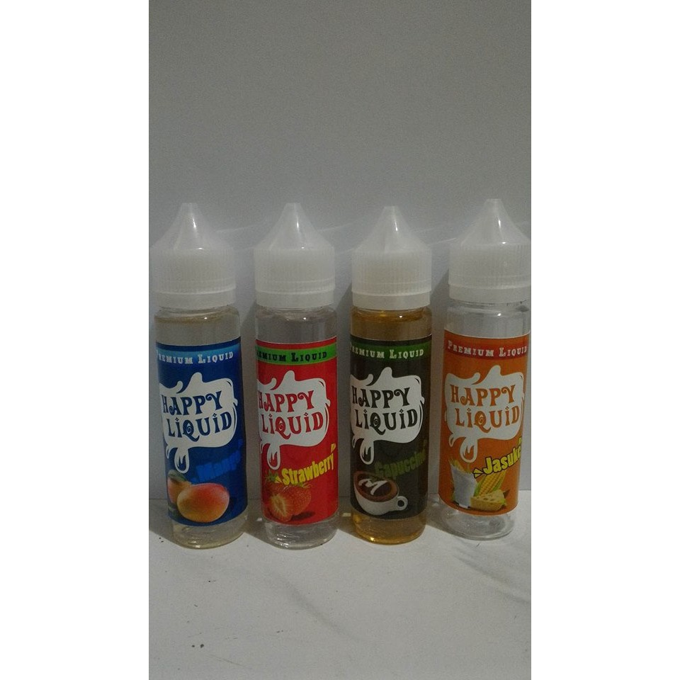 Harga Promo Murah 4~pcs Premium Liquid Vaporizer Rokok Electric Murah Refill E Liquid E Juice Nvxmiv | Shopee Indonesia