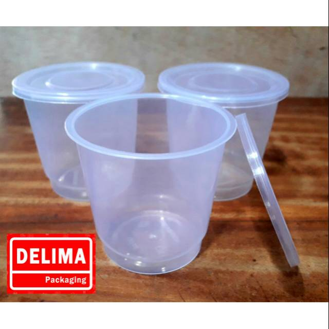 CUP 150ML/CUP PUDING 150ML/CUP AGAR TEBAL (25 pcs)