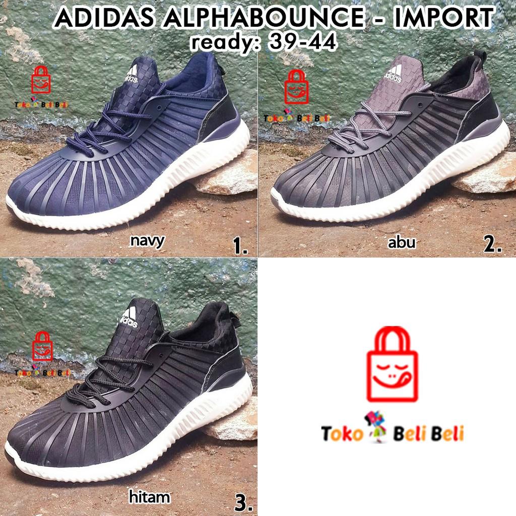 adidas alphabounce import - 3 warna   sepatu sneakers  2047f06645