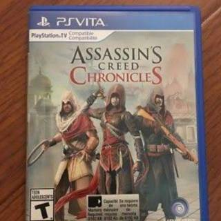 Game Ps Vita Assasin Creed Chronicles Shopee Indonesia