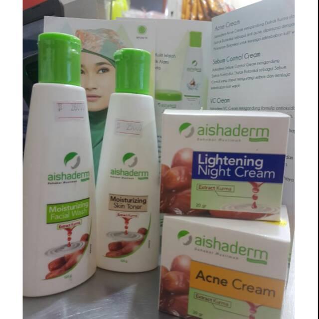 Harga Cream Aishaderm Untuk Jerawat