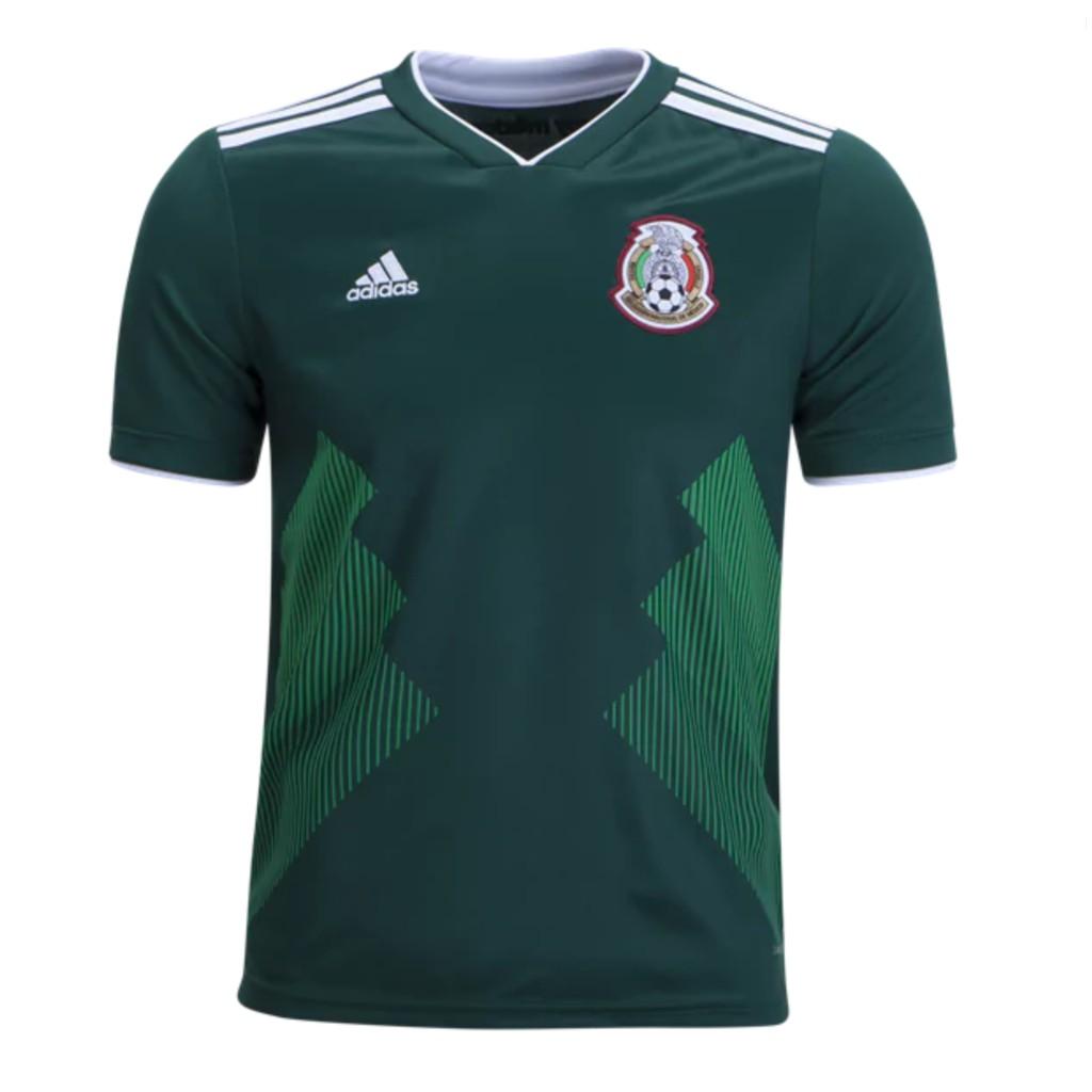 82c83f921b8 Jersey Baju Bola Mexico Home World Cup 2018 Grade Ori Top Quality ...