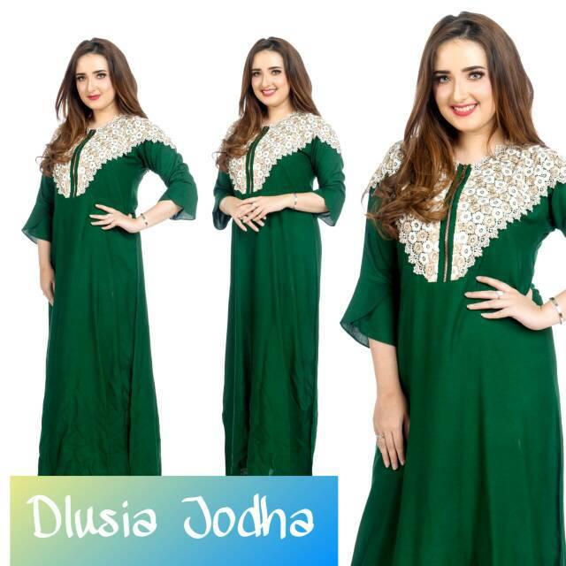 Maxi dress arab/india/dubai/turki dolce noni daster busui tangan panjang |