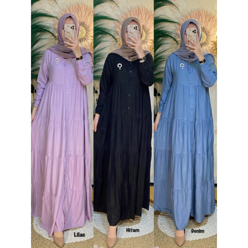 GAMIS DAISY AMORE BY RUBY - ALANA DRESS PREMIUM BY AMORE