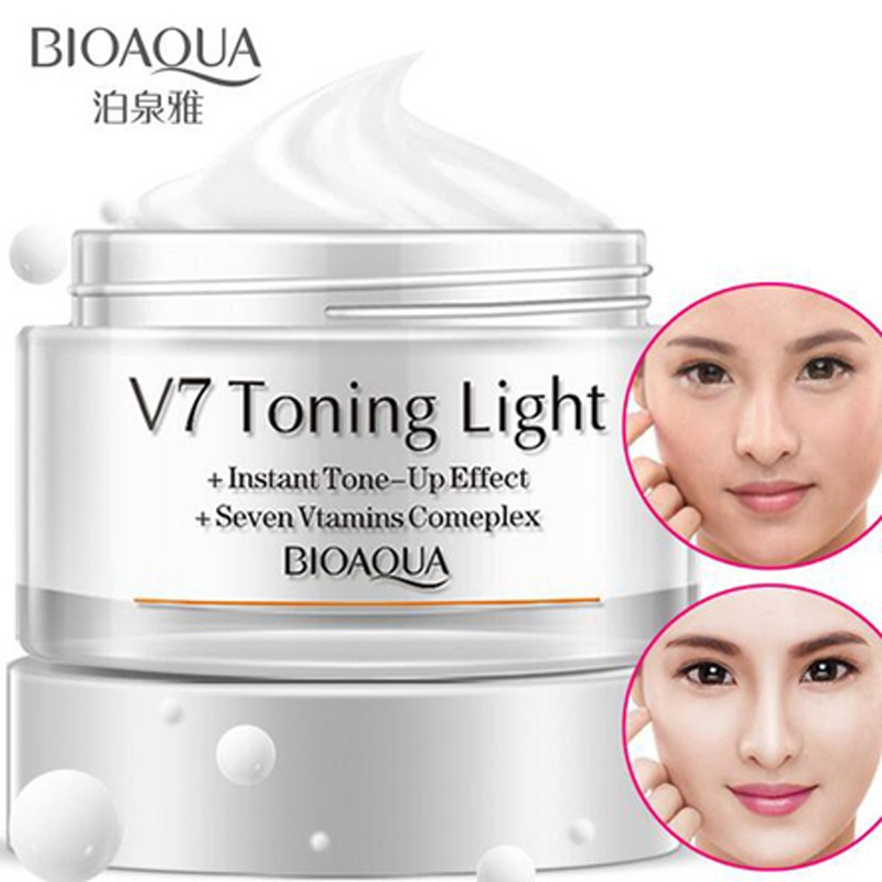 BIOAQUA HA HYALURONIC ACID CREAM LOTION FACE DAY NIGHT GET WATER MOISTURIZER MOISTURIZING PELEMBAB | Shopee Indonesia