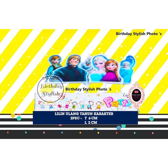 party Lilin Ulang Tahun / Ultah Karakter My Little Pony isi 5 PCS pesta | Shopee Indonesia