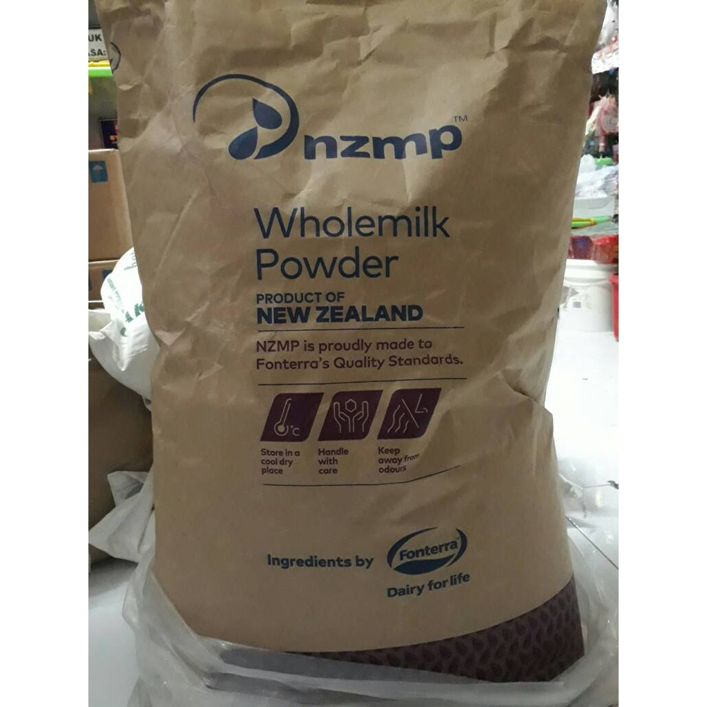 Susu Milk Tepung Powder Bubuk Full Cream Import Bahan Kue Minuman Shopee Indonesia