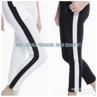 Celana Legging Olahraga Senam Yoga Fitnes Wanita Cewek Panjang Jumbo Big Size Scuba Import Ori Shopee Indonesia