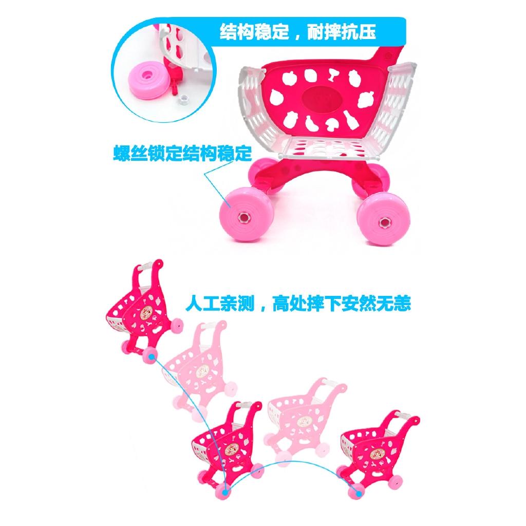 19pcs Set Mainan Masak Masakan Potong Buah Sayur Peralatan Dapur Untuk Anak Pretend Play