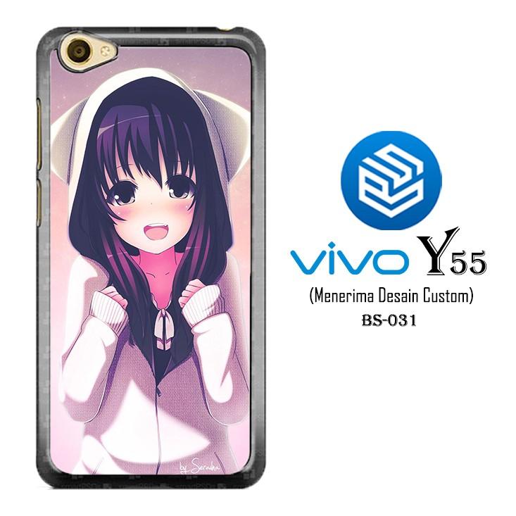 Casing Keren Hp VIVO Y55 Custom Hardcase Cover Anime Wallpaper 031