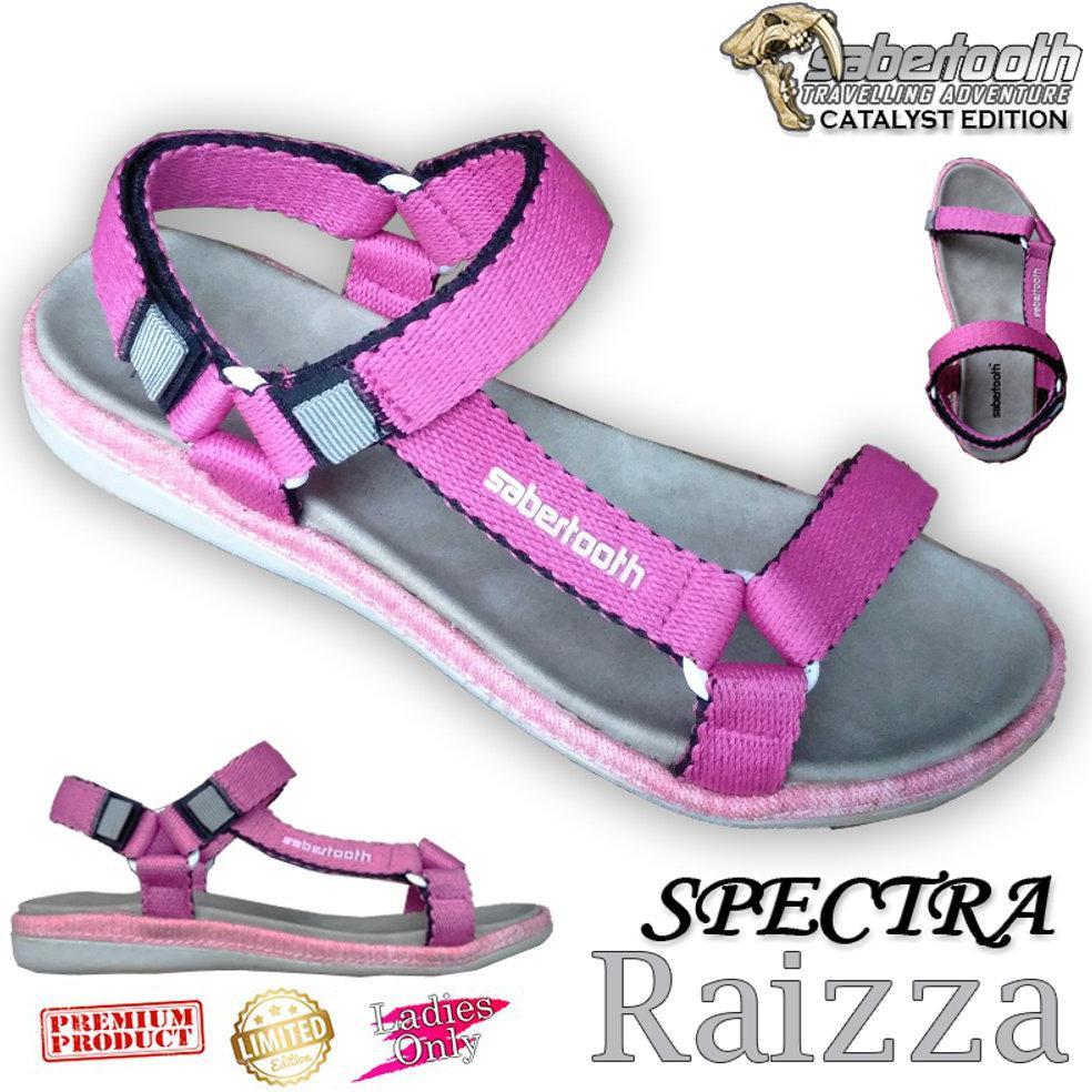 SABERTOOTH Sandal Gunung Traventure Spectra Vallinka size 32 s/d 47   Shopee Indonesia