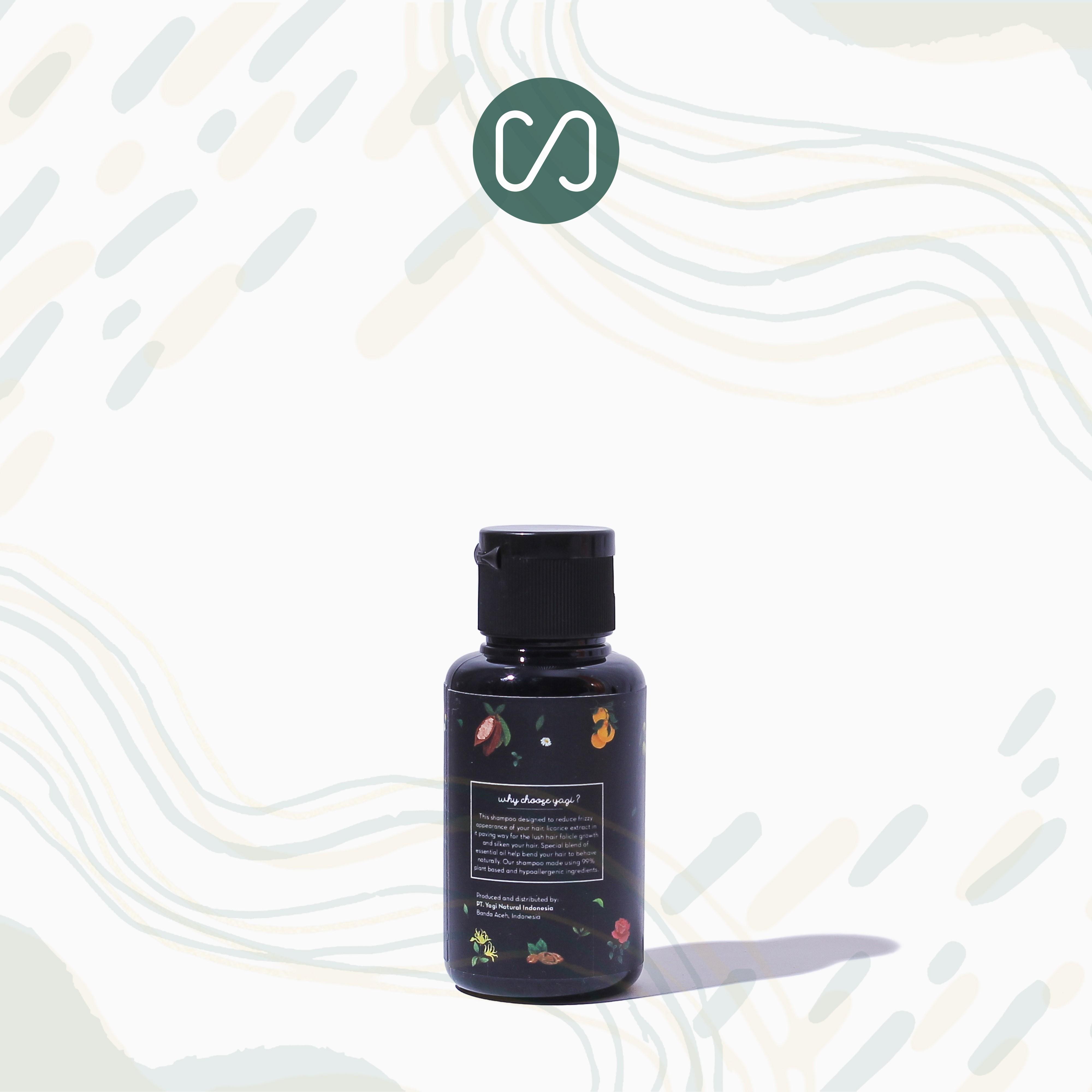 Sustaination - Yagi Natural - Shampo Cair Alami untuk Rambut Berminyak - Good Hair Day-3