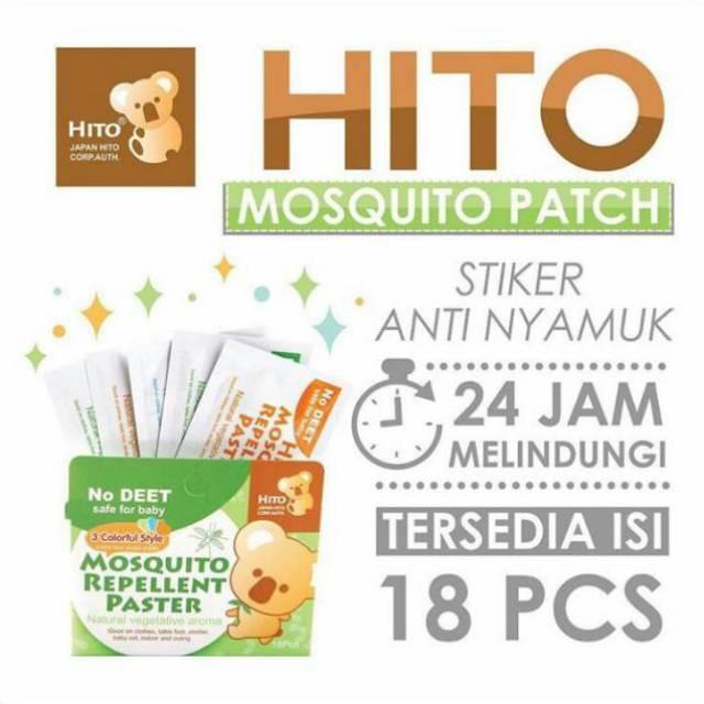 Hito Sticker Anti Nyamuk Sticker Tempel Bayi Anak Dewasa | Shopee Indonesia